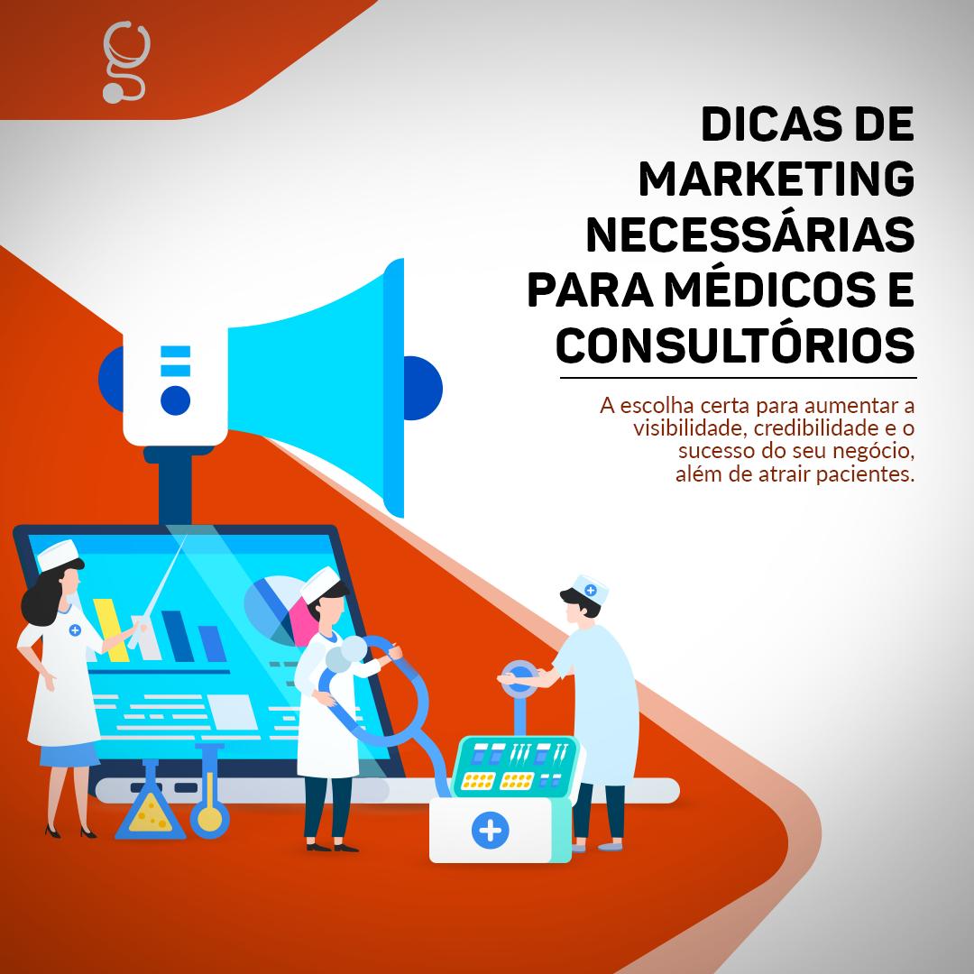 Dicas de marketing necessárias para médicos e consultórios